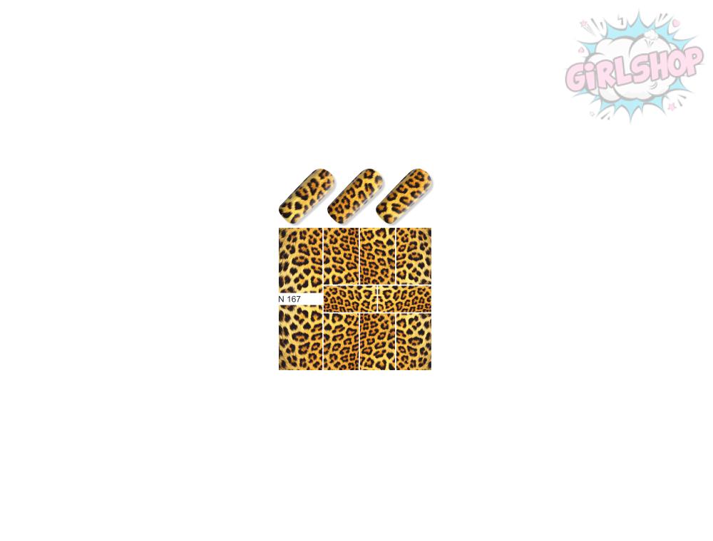 Слайдер для дизайна ногтей №167