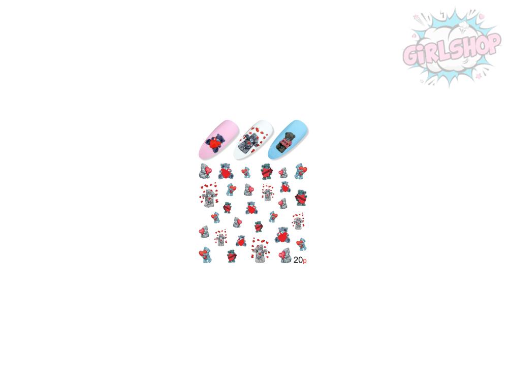 Слайдер для дизайна ногтей №20