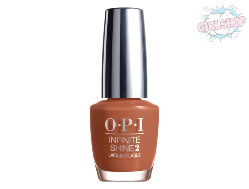 Лак для ногтей OPI INFINITY SHINE - Brains & Bronze L23, 15 мл