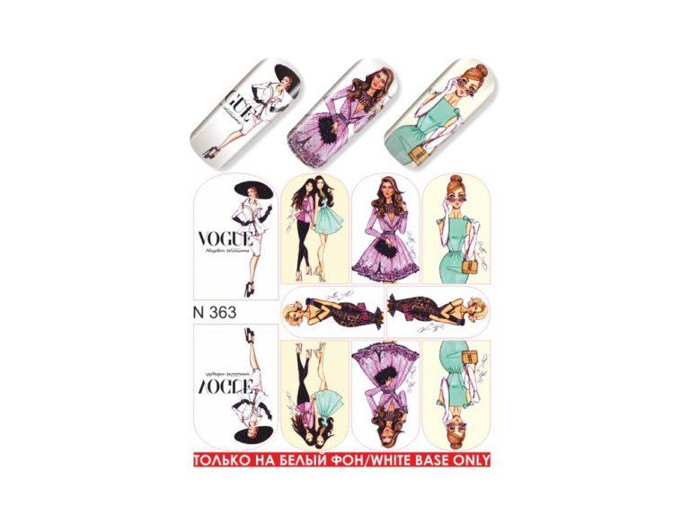 Слайдер для дизайна ногтей N 363