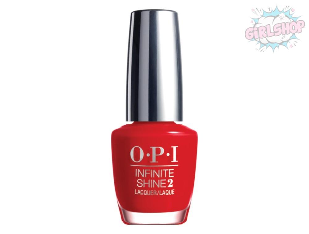 Лак для ногтей OPI INFINITY SHINE - Unequivocally Crimson  L09, 15 мл