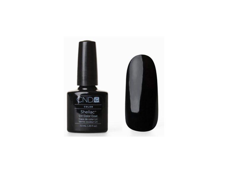 Гель лак CND Shellac Black Pool (черный)