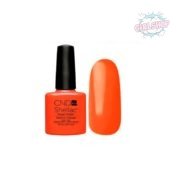 Гель лак CND Shellac Electric Orange