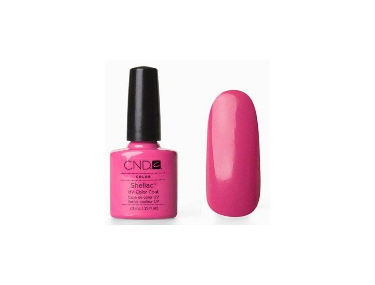 Гель лак CND Shellac Hot Pop Pink