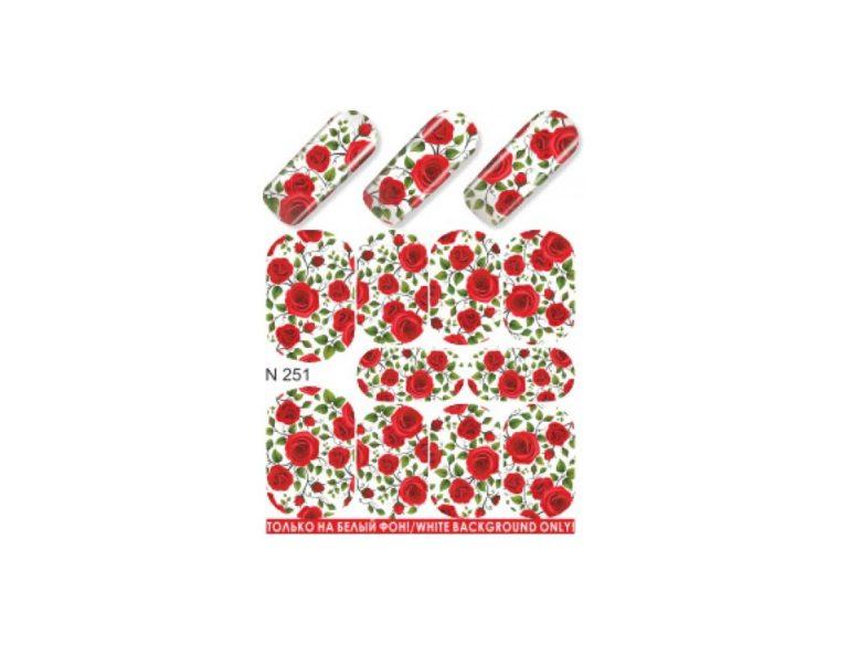 Слайдер для дизайна ногтей N251