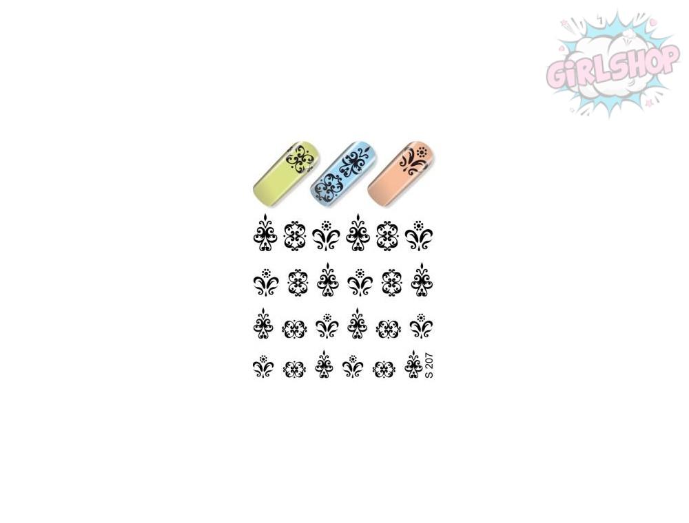Слайдер для дизайна ногтей S207