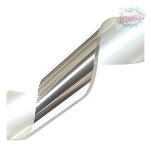 Фольга для дизайна ногтей, серебро