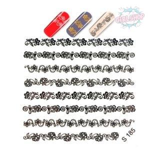Слайдер для дизайна ногтей S185 Золото