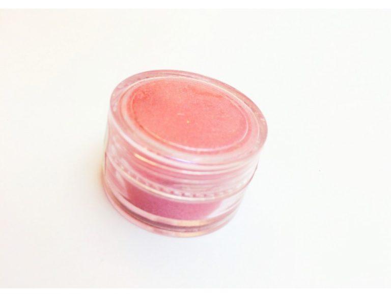 Пигмент для дизайна ногтей розовый