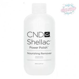 Жидкость для удаления гель лака - Nourishing remover CND 236 мл