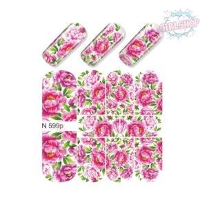 Слайдер для дизайна ногтей N 599